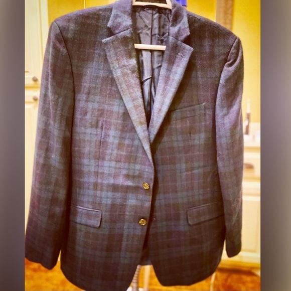 Ralph Lauren Plaid Sports Coat Blazer Men's